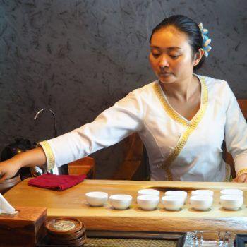 Új trend a kínai teaszertartásban