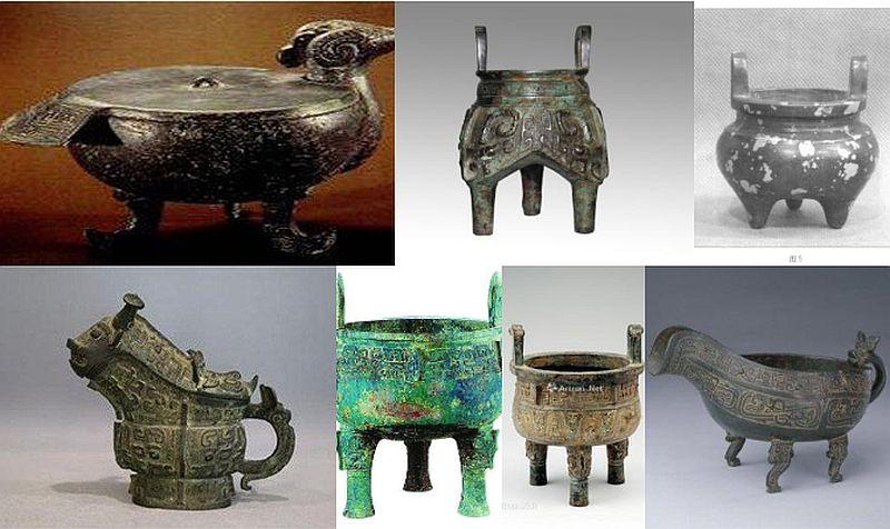 A Yangshao kultúra különleges, háromlábú fazekassága, 三足器 – sanzuqi