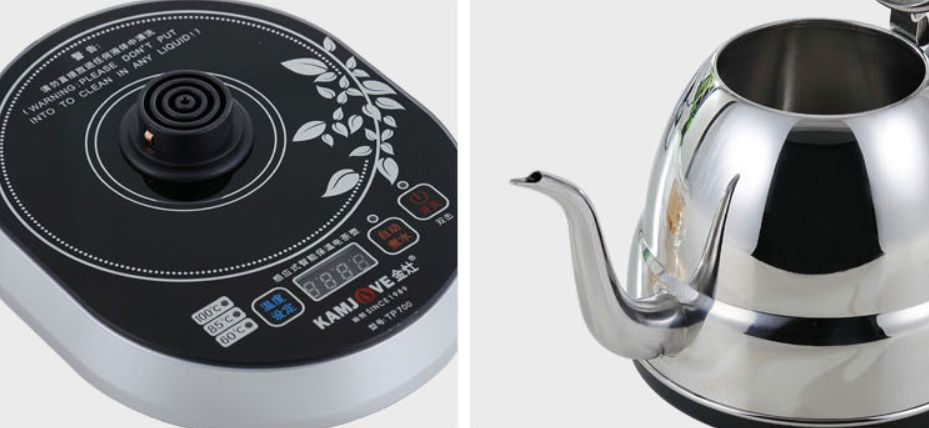 elektromos forraló teás kanna