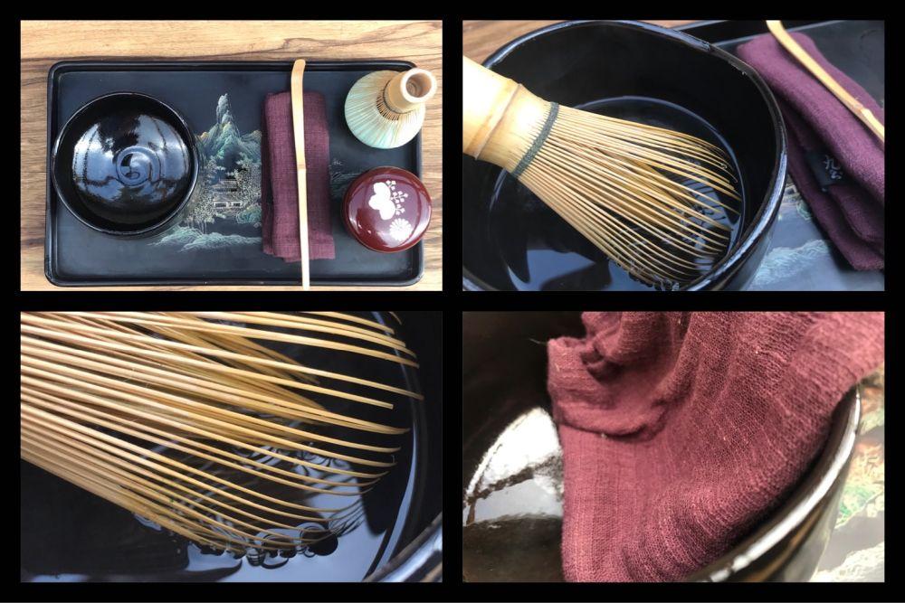 matcha tea készítés