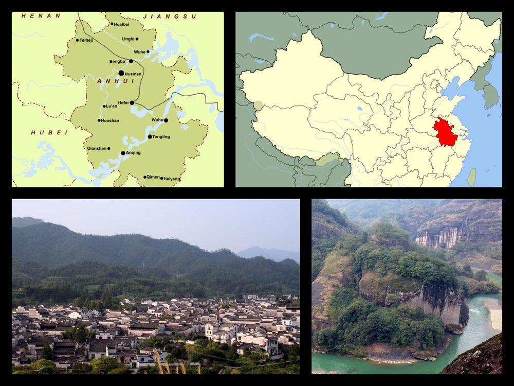 anhui tartomány és huangshan