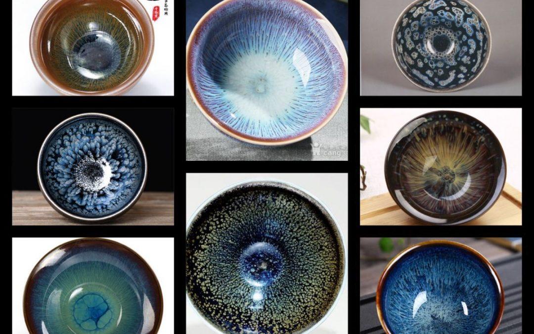 Tianmu Zhan 天目盏, égi szem a teáscsészében